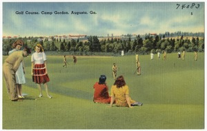 Golf course, Camp Gordon, Augusta, Ga.
