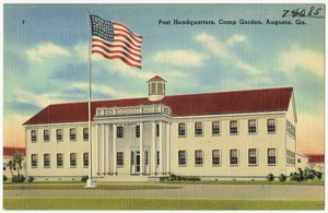 Post headquarters, Camp Gordon, Augusta, Ga.