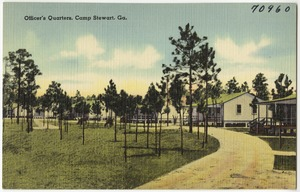 Officer's quarters, Camp Stewart, Ga.
