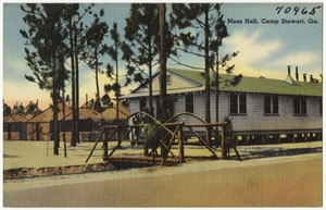 Mess hall, Camp Stewart, Ga.