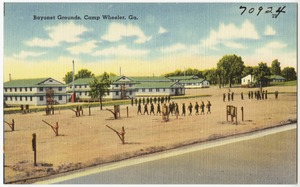 Bayonet grounds, Camp Wheeler, Ga.