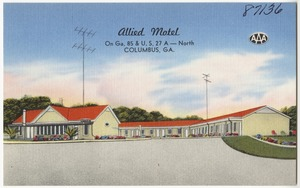 Allied Motel, on Ga. 85 & U. S. 27 A - north, Columbus, Ga.