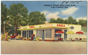 Childre Truck Stop and Cafe, Fort Valley, Ga.