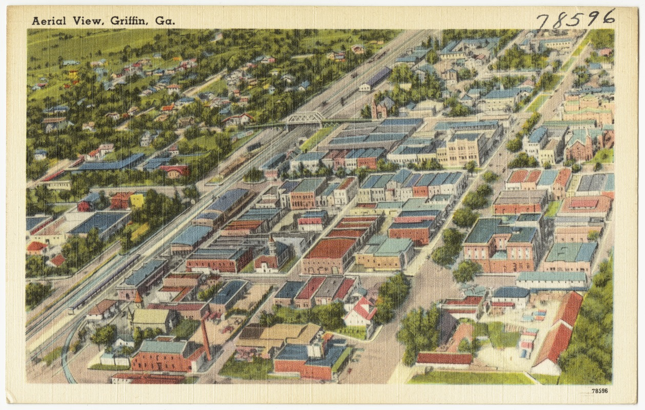 Aerial view, Griffin, Ga.