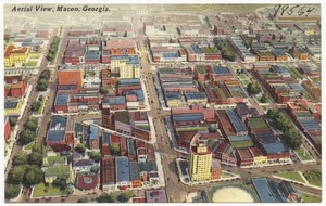 Aerial view, Macon, Georgia