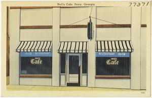Nell's Cafe, Perry, Georgia