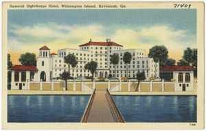 General Oglethorpe Hotel, Wilmington Island, Savannah, Ga.