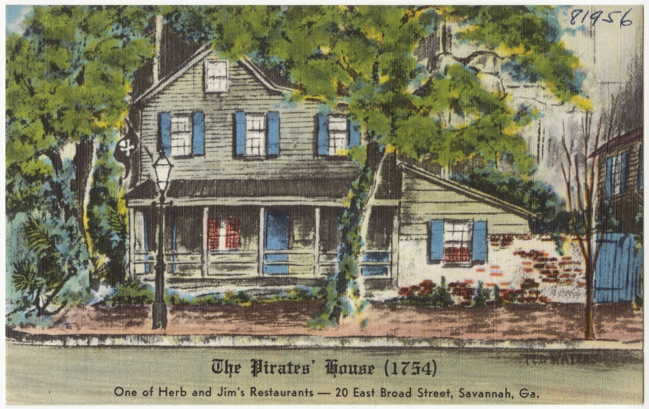 The Pirates House 1754 One Of Herb And Jims Restaurants 20