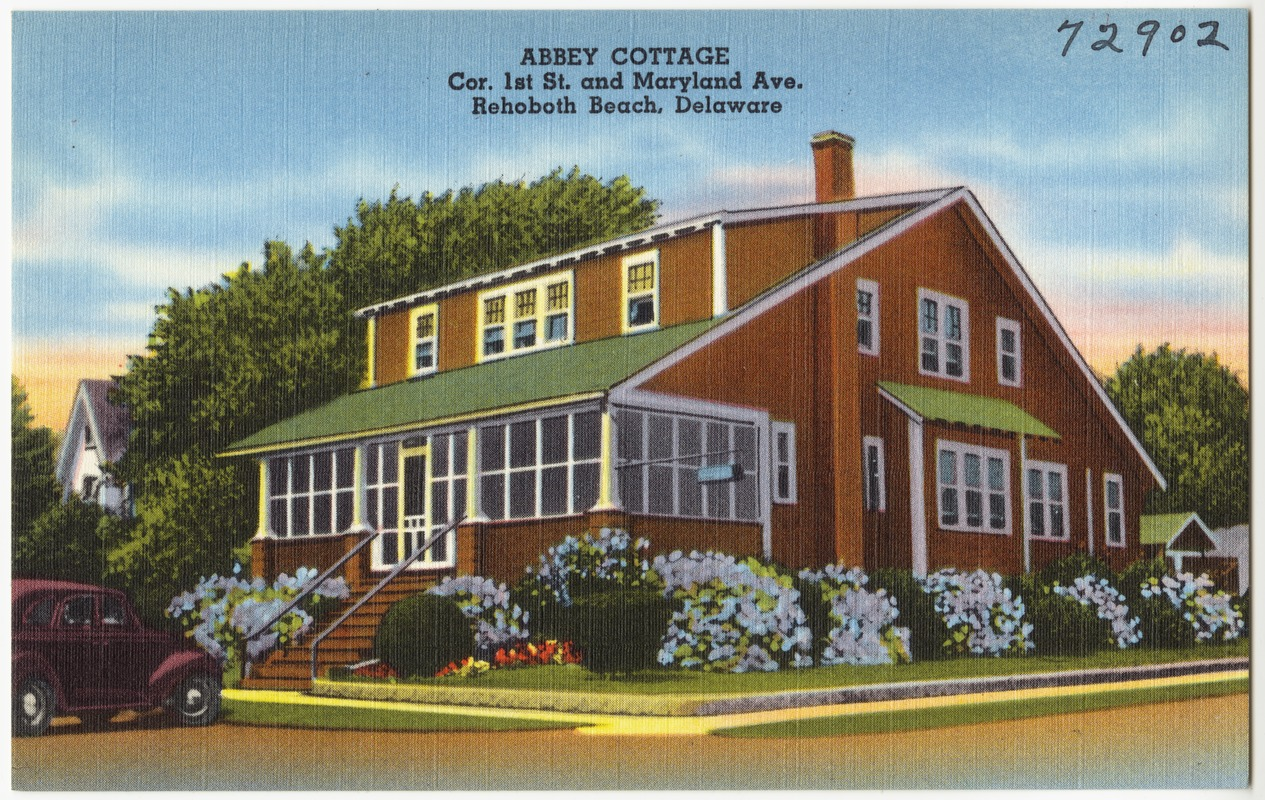 Abbey Cottage Cor 1st St And Maryland Ave Rehoboth Beach Delaware