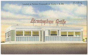 Birmingham Grille, located at Painters Crossroads on Route 1 & 202