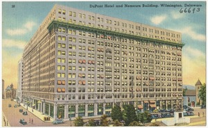 DuPont Hotel and Nemours building, Wilmington, Delaware