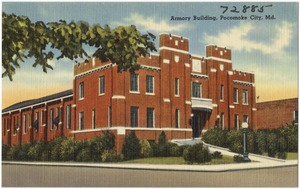 Armory building, Pocomoke City, Md.