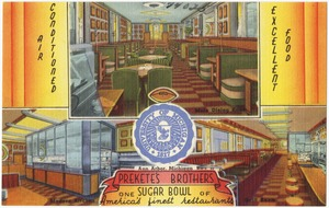 Prekete's Brothers Sugar Bowl, one of America's finest restaurants