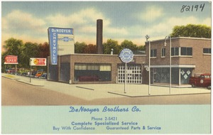 DeNooyer Brothers Co., complete specialized service