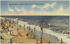 Bathing Beach, Benton Harbor and St. Joseph, Mich.