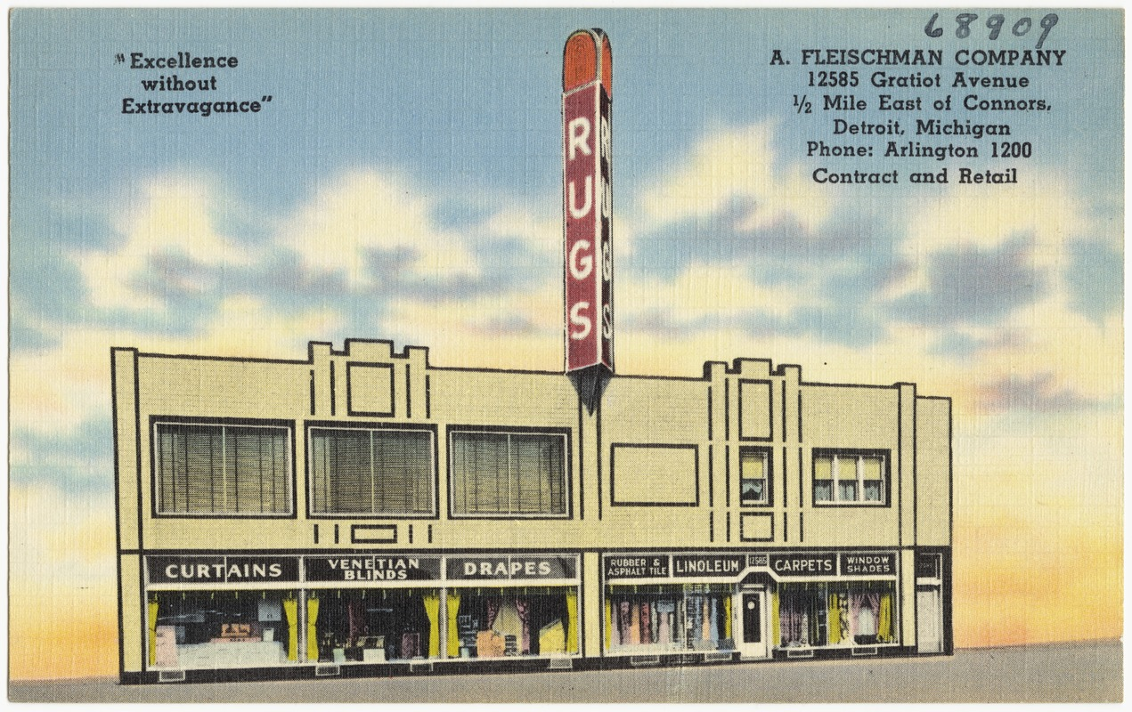A. Fleischman Company, 12585 Gratiot Avenue, 1/2 mile east of Connors, Detroit, Michigan