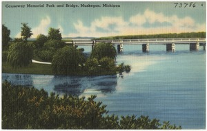 Causeway Memorial Park and Bridge, Muskegon, Michigan