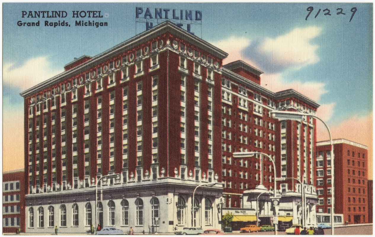 Pantlind Hotel Grand Rapids Michigan