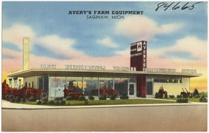 Avery's Farm Equipment, Saginaw, Mich.
