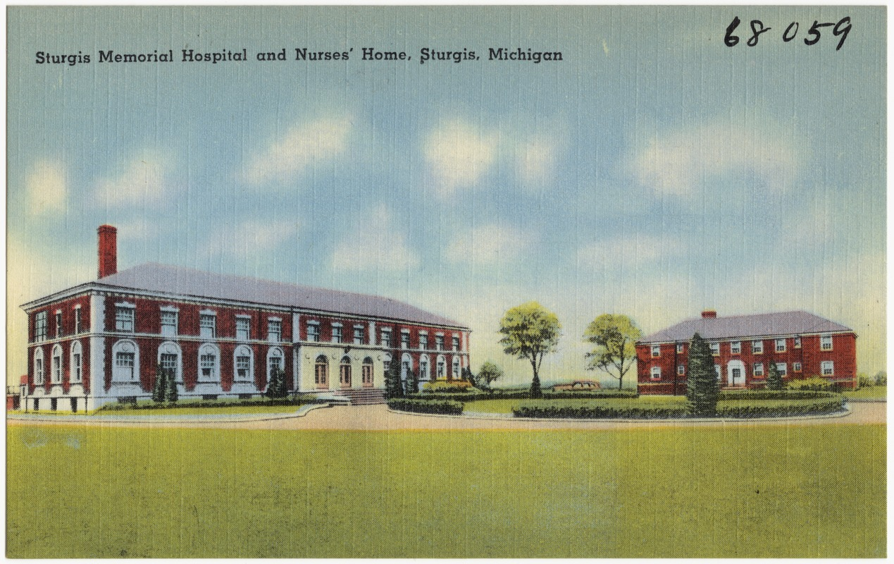 Sturgis Memorial Hospital And Nurses Home Michigan