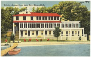 Richelieu Lodge, Corey Lake, Three River, Mich.