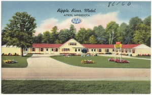 Ripple River Motel, Aitkin, Minnesota