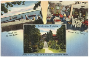 Grand View Lodge on Gull Lake, Brainerd, Minn.
