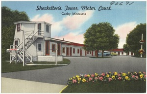 Shackelton's Tower Motor Court, Canby, Minnesota