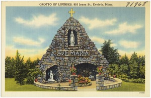 Grotto of Lourdes, 810 Jones St., Eveleth, Minn.
