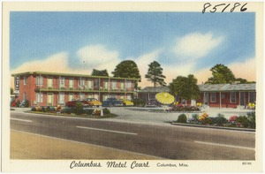Columbus Motel Court, Columbus, Miss.
