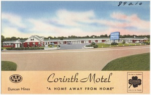 "Corinth Motel, ""A home away from home"""