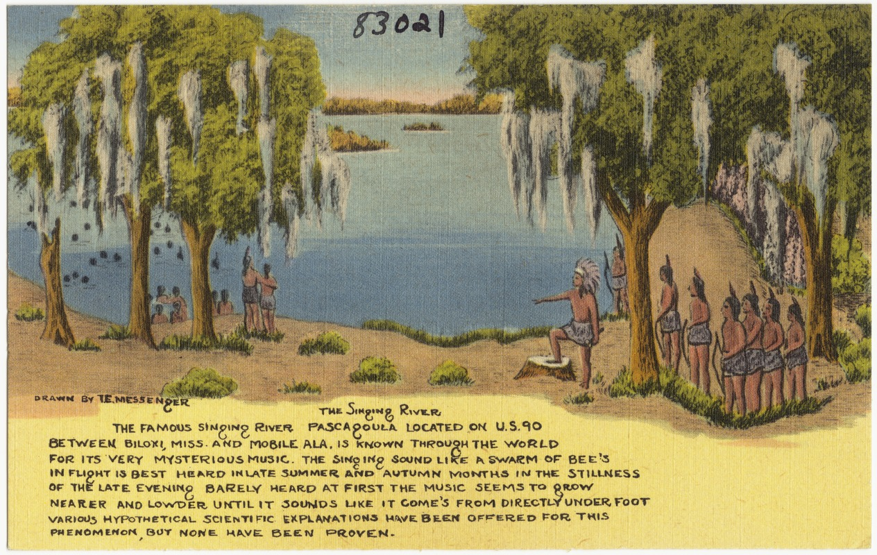 the singing river the famous singing river pascagoula located on