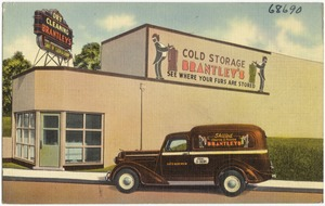 Brantley's Dry Cleaning, Brantley's Cold Storage, see where your furs are stored