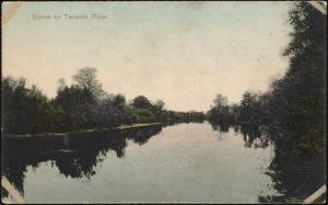Scene on Taunton River