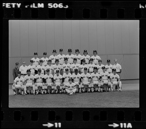 1980 Red Sox team photo