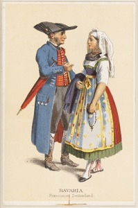 German peasant costumes - Bavaria Franconian Switzerland