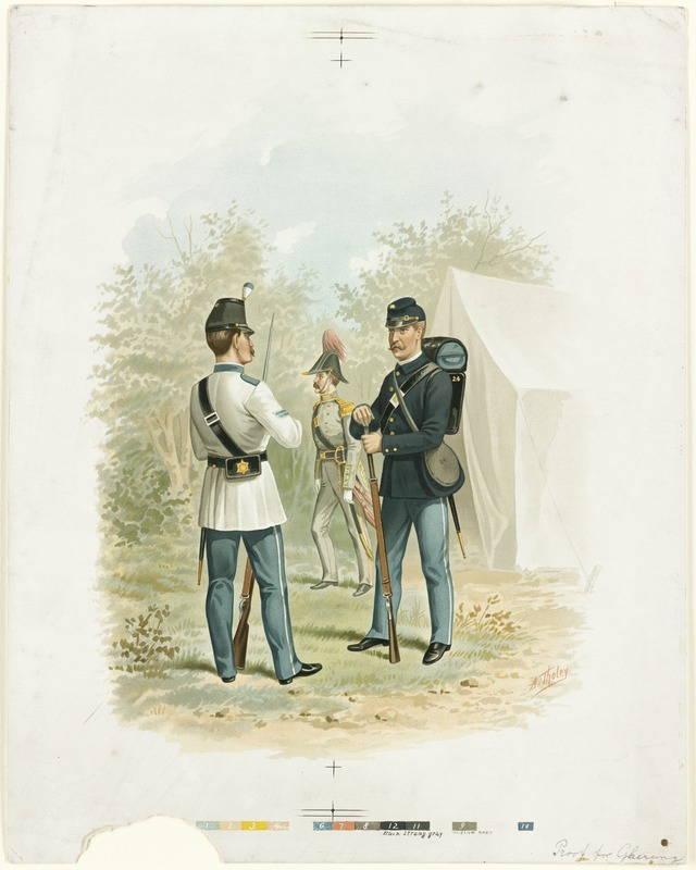 1st Corps of Cadets 1741-1894