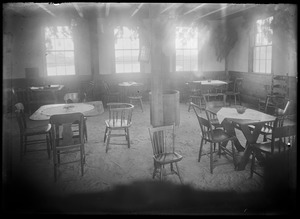 Interior - dining room. Possibly restaurant or tea house