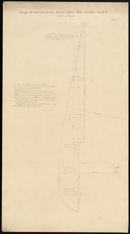 Design for turbines by U. A. Boyden
