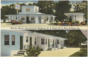 Bel-Air Motel, 4104 Gentilly Highway, U. S. Route 90-11, New Orleans, La.