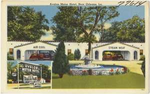 Avalon Motor Hotel, New Orleans, La.