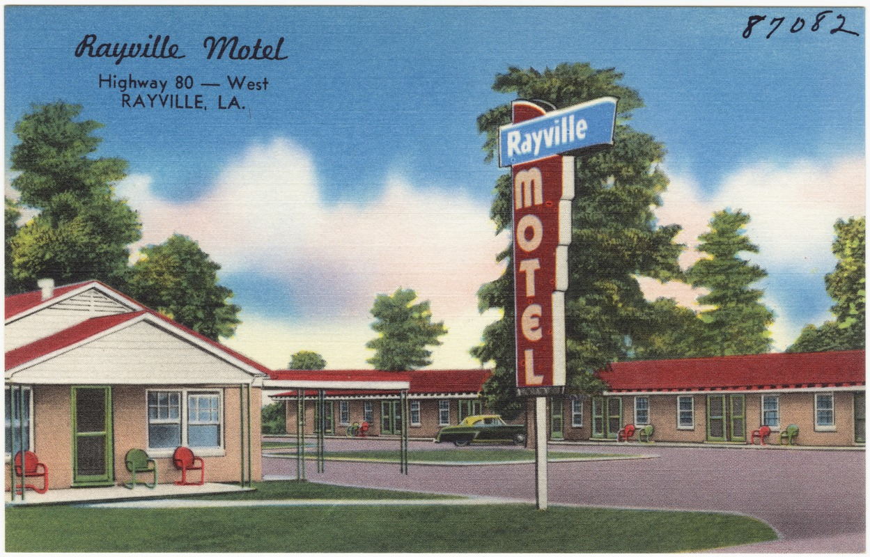 Rayville Motel Highway 80 West La Digital