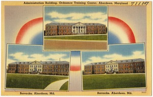 Administrative building, Ordnance Training Center, Aberdeen, Maryland