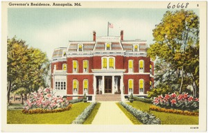 Governor's residence, Annapolis, Md.