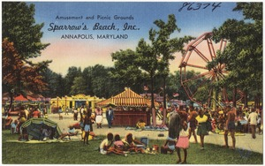 Amusement and picnic grounds, Sparrow's Beach, Inc., Annapolis, Maryland