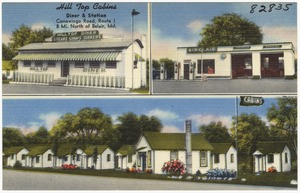 Hill Top Cabins, diner and stations, Conowingo Road, Route 1, 8 mi. north of Belair, Md.