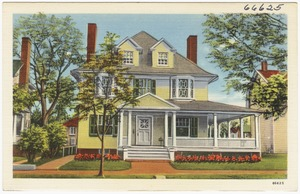 Residence and office of Dr. T. A. Tobin, Chiropractor, 18 N. Aurora St., Easton, Maryland