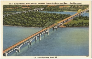 New Susquehanna River Bridge, between Havre de Grace and Perryville, Maryland