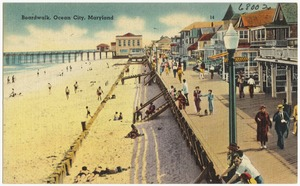 Boardwalk, Ocean City, Maryland