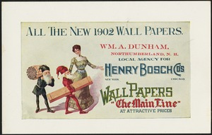 All the new 1902 wall papers.